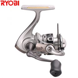 100% Original RYOBI Spinning Fishing Reel 5.2:1/3+1BB 500/800 Size Carretes De Pescar Carp Reel Moulinet Peche Fishing Reels