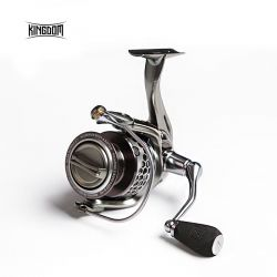 Kingdom Fishing Reel Spinning Saltwater 11+1 BB 5.2:1 FL1500 FL2000 FL3000 Fishing Reels Carp All-metal lure spinning reel FIR