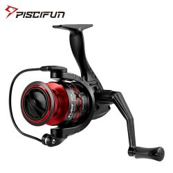 Piscifun Flame Spinning Reel Ultra Light Hollow Graphite Body X Shape 5.2:1 10 BB 9KG Max Drag 2000 3000 4000 5000 Fishing Reel