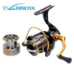 TSURINOYA DW2000 Metal Fishing Reel 8 + 1 Ball Bearings 5:2:1 Spinning Fishing Reel for Casting Lure Tackle Line Pesca