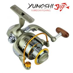 Yumoshi wheels fish spinning reel 5.5:1 12Ball Bearing carretilhas de fishing reel